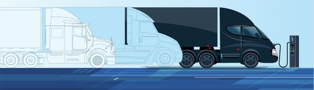 inline truck graphic